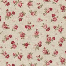 Teflon Fabric w140 Living Daisy red