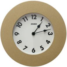 Beach reloj pared - oro  28 cm